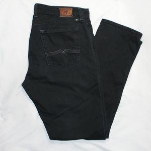 Lucky Brand Jeans Knox Sweet N Straight Black Sz14